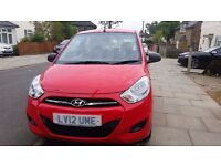 2012 HYUNDAI I10 1.2 ACTIVE HATCHBACK PETROL Old Lady Owner Very Low Miles Red Excellent Condition