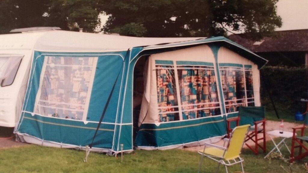 Good Condition Second Hand Caravan Awning For Sale In