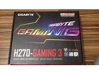 MOTHERBOARD -GIGABYTE H270-GAMING 3 (ONLY £10) NEED GONE BEFORE 22 JULY WILL ACCEPT ANY OTHER OFFERS