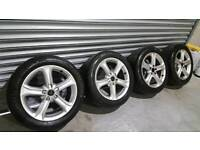 Vw, Audi, Seat, Skoda 17inch 5x112 Alloys For Sale 4 Good Tyres