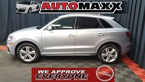 2016 Audi Q3 2.0T Progressiv AWD! $255 Bi-Weekly! APPLY NOW DRI