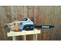 Electric chainsaw TITAN