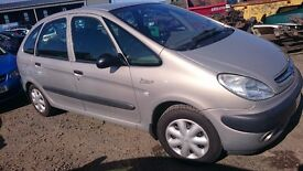 2002 CITROEN XSARA PICASSO SX, 2.0 HDI, BREAKING FOR PARTS ONLY, POSTAGE AVAILABLE NATIONWIDE