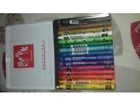 Neocolor 1 Water resistant wax pastel crayons