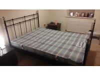 Double bed and mattress!