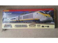 Hornby Eurostar train set