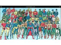 Wanted, marvel and dc comics and graphic novels
