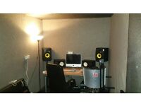 Music production / recording studio room for monthly hire BS2 no gear included