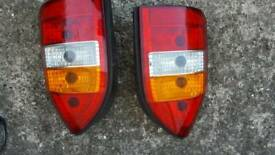 Vauxhall zafira rear/back light both sides available