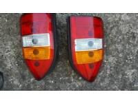 Vauxhall zafira rear/back light both sides available
