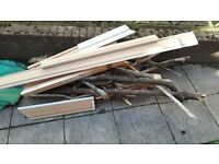 free wood for bonfires or woodburners