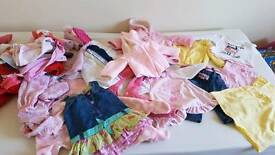 Baby girls 3-6 months bundle clothes