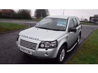 Landrover Freelander XS TD4 2007,Half Leather,Park Sensors,Side steps,Air Con,Full Service History