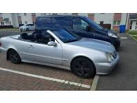 mercedes clk320 avantgarde convertible px or swap lwb sprinter van
