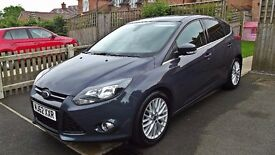 FORD FOCUS 1.6 TDCi 115 Zetec Navigator 5dr Apperance pack STOP/START SAT NAV DAB BLUETOOTH £20 TAX