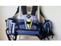 Brand New Palm RT Whitewater buoyancy aid / PFD canoe kayak rafting life jacket, Medium/Large