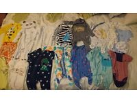 Baby boy clothes bundle 0-3months