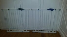Lindam Easy fit safety gate x2