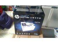 brand new in box hp colour pro laserjet printer