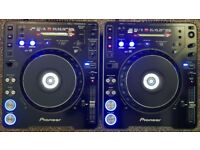 MINT 2 X PIONEER CDJ 1000 MK3, SDCARDS, BOXED,CABLES ,TUNED