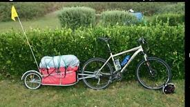 Adventure CT1 bike trailer.