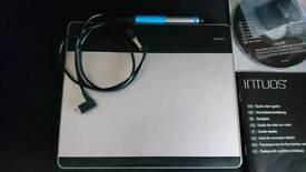 Wacom graphics tablet