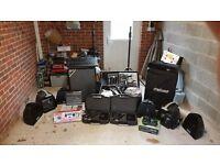 Prosound - DJ Tech - Speakers, Mixers, Amplifer, Microphones, Stands