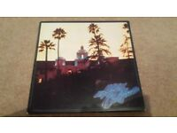 THE EAGLES ''HOTEL CALIFORNIA''UK 1976 WARNER BROS K53051 INCLUDES RARE POSTER