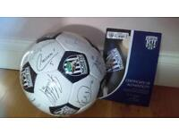 WBA limited edition Signed Football.