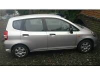 ***HONDA JAZZ 1 LAST OWNER FROM NEW ONLY 87000