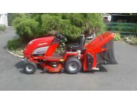 Countax c30h ride on lawnmower honda 13hp engine