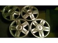 Renault Clio 16 alloy wheels