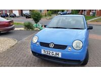 Vw lupo 12months mot service history cheap on fuel and tax central lock tidy economical £650