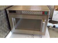 Panasonic NE1856 1800W Commercial Microwave Oven Power: 1.8kW