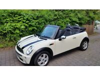 Mini One Convertible, 2006, ONLY 72k miles, MOT until June 2019 - Perfect for the summer!