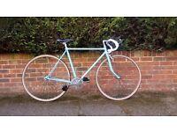 Light Blue Fixed Gear bike (Fixie)