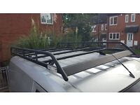 Full roof rack for Transit Connect. (Pretty much new)