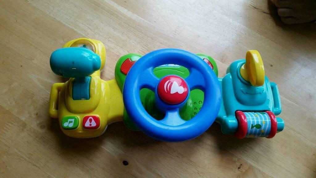Baby steering wheel