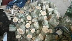 Unseasoned hardwood for sale