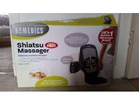 Homedics Shiatsu Massager Deep Kneading Rotation with Heat