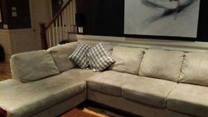 Sofa sectionnel/ négociable