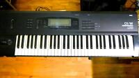 Korg O1w 61 key workstation synth