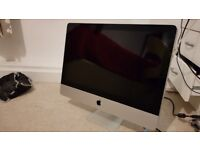 """Apple iMac Mid 2010-21.5"""", 3.6 GHz, i5 12GB RAM with 1TB (Display doesn't work)"""