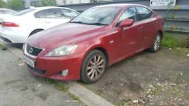 Lexus is 220d 250 red for parts
