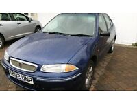 Rover 216 SLI Blue - 5 door, excellent runner, ideal first car