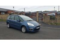 2012 FACELIFT CITROEN C4 GRAND PICASSO HPI CLEAR FSH 2 KEYS MPV 7 SEATER MINT CONDTION BARGAIN £3295