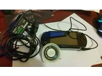 PSP Black with 2 Games
