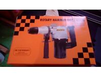 650W Rotary Hammer Drill with chisel action