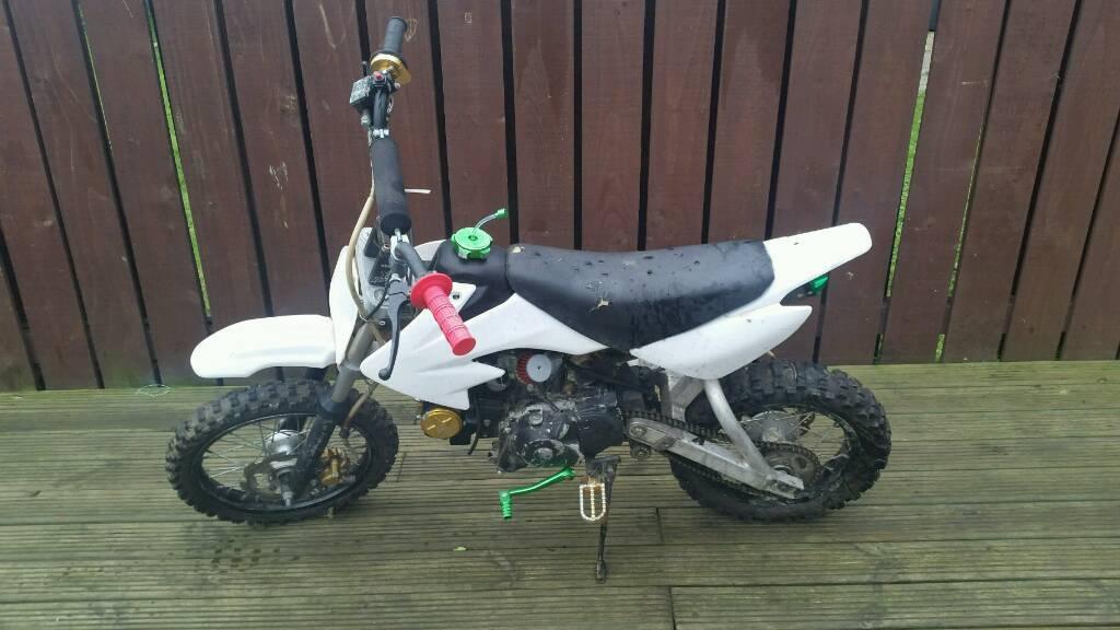 125cc thumpster pit bike