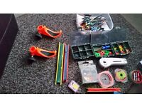 Loads of fishing tackle for sale pole and rod